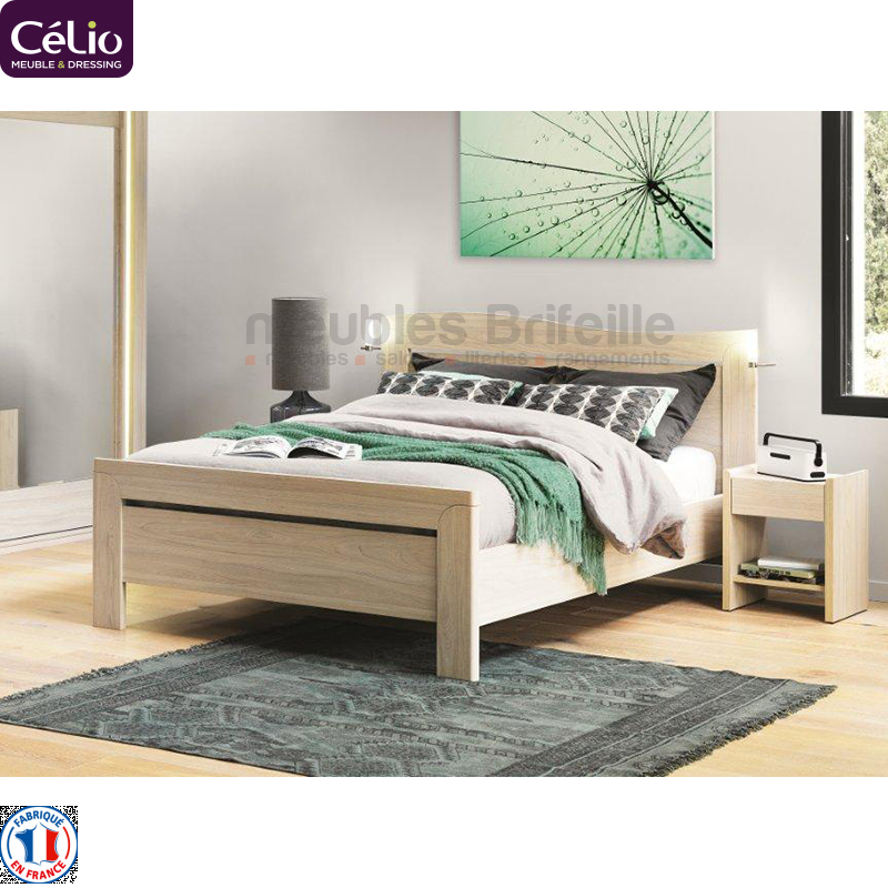 dressing autour du lit lit dressing en bois mobalpa amnagement chambre coucher ide dco mur. Black Bedroom Furniture Sets. Home Design Ideas